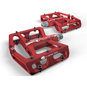 ACROS A-Flat XL Pedały czerwony